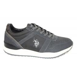 Pantofi Piele Naturala U.S Polo Wayron Blk