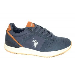 Pantofi Piele Naturala U.S Polo Wayron Blu