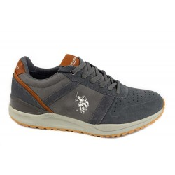 Pantofi Piele Naturala U.S Polo Wayron Gri