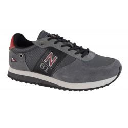 Pantofi Sport Navigare Retro1 Shark-Scarlet