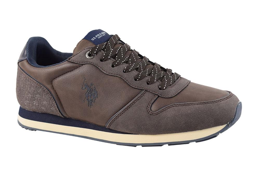 Pantofi U.S. Polo Assn. Soren 1 Club-Brw