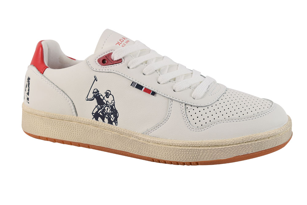 Pantofi U.S. Polo Assn. Jackson-Whi-Red