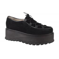 Pantofi Piele Naturala Marina Blk