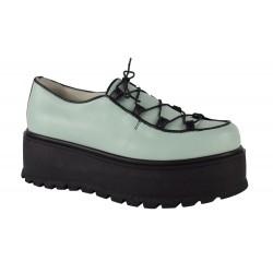 Pantofi Piele Naturala Marina Vernil