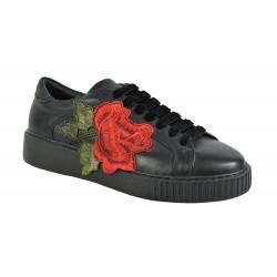 TOSCA BLU Pantofi Piele Naturala Astana Flower