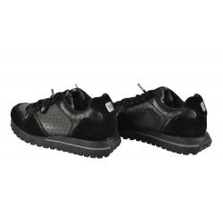 Pantofi piele Naturala Wrangler Beyond Star Blk
