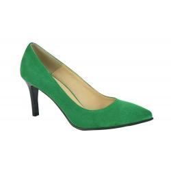 Pantofi Ama Verde Cam