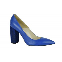 Pantofi Ester Albastri Box