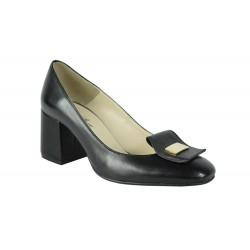 Pantofi Amy Negrii Box