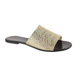 Papuci Piele Naturala Nova