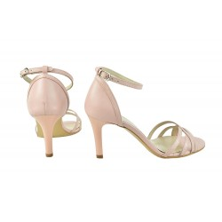 Sandale Piele Naturala Angelina Nude