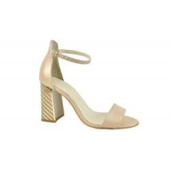 Sandale Piele Naturala Alicia Sidef Bej