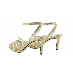 Sandale Piele Naturala Tess Gold