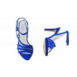 Sandale Piele Naturala Tess Electrik Blue