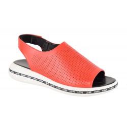 Sandale Dama S36203 Laser Rosii