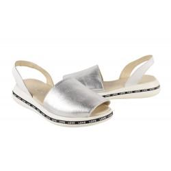 Sandale Dama S38203 Argintii