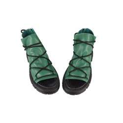 Sandale Piele Naturala Kara-Green B