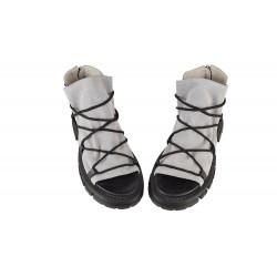 Sandale Piele Naturala Kara-Grey