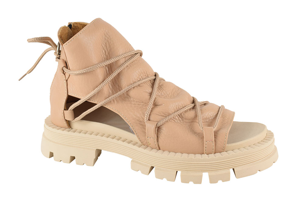Sandale Piele Naturala Kara Nude