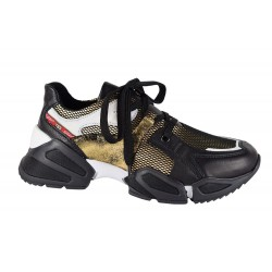 Sneakers Tosca Blu Chaty Nero Oro