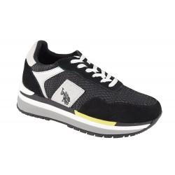 Pantofi Dama Sport AMY-BLK-WHI