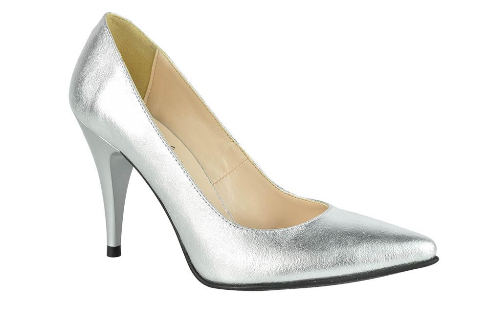 Pantofi Stella Argintii
