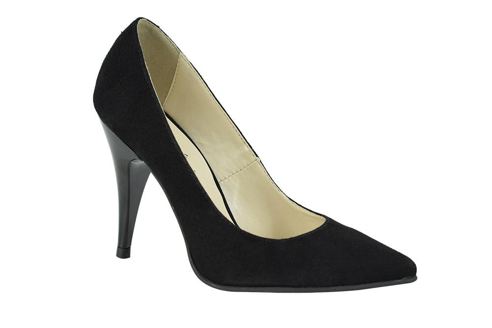 Pantofi Stella  Negrii