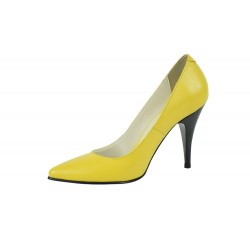 Pantofi Stella Galbeni