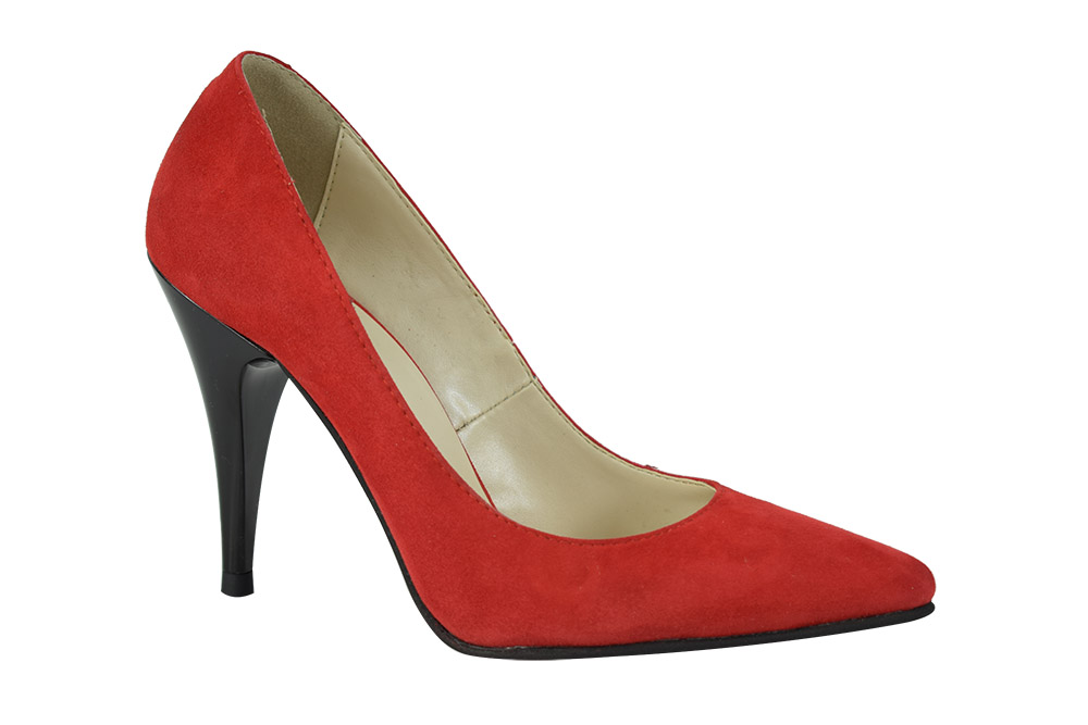 Pantofi Stella Rosii Cam