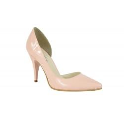 Pantofi Stella 7 Nude Lacuit