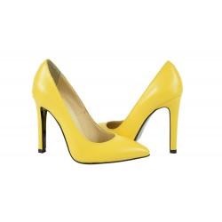 Pantofi Elisa Galbeni