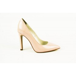 Pantofi Elisa Lac Roze